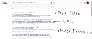 Example-for-meta-description-tags-URL-and-page-title-for-search-engine-300x130 All you need to know about Keyword integration in your content for SEO
