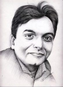 A sketch of Jay Vasavada